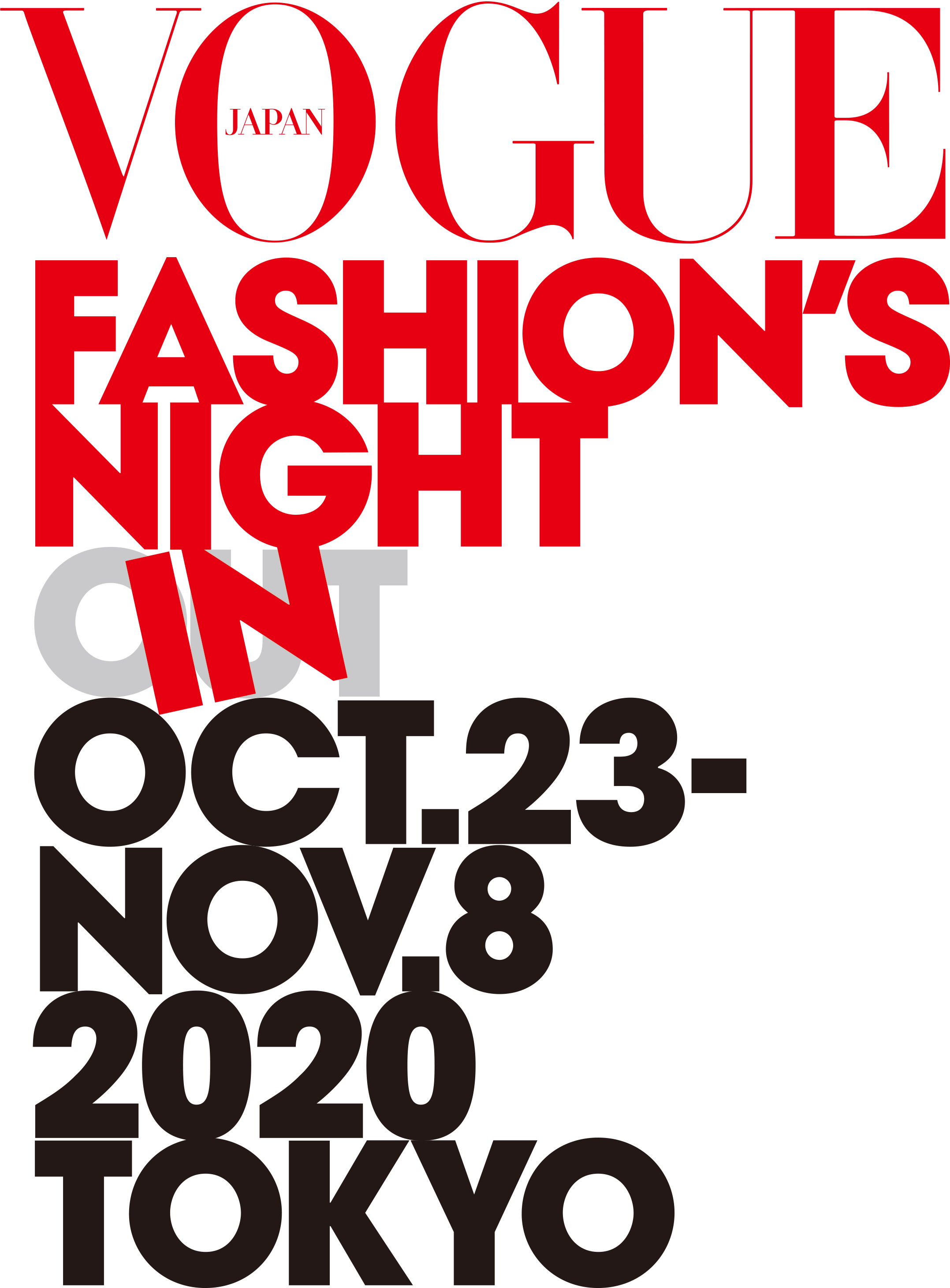 VOGUE FASHION'S NIGHT IN 2020へのリンク
